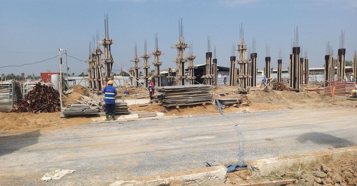 Dự án nhà phố đất nền Bình Chánh